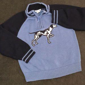💐 3/$25 Hartstrings Boys Dog Sweater Size 6